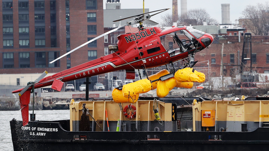 NTSB urges ban on copter flights with unsafe harness systems
