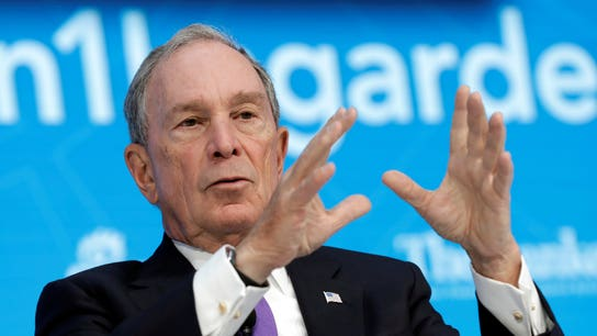 Michael Bloomberg lists philanthropic priorities, slams Trump, Congress