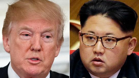 Trump says 'long way' to go on North Korea crisis