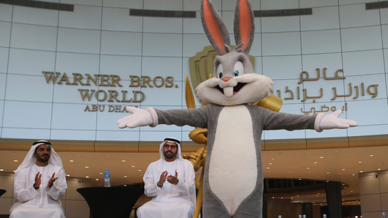 Abu Dhabi's Warner Bros. indoor amusement park opens in July