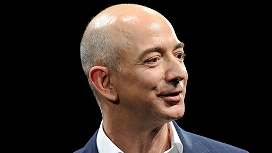 Amazon CEO Jeff Bezos on data security and 'work-life balance'