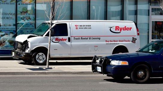 Ryder 'saddened' as van in Toronto collides with pedestrians