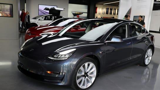 Tesla Model 3 registrations zip past rivals in California