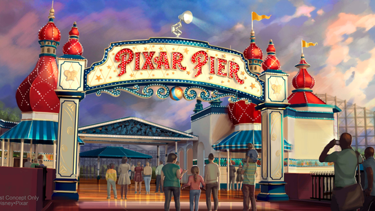 What's new at theme parks: Wonder Woman coaster, Pixar Pier