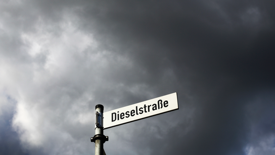 German city to ban diesel cars to combat air pollution