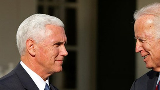 Mike Pence seeks advice from Joe Biden once a month, author says