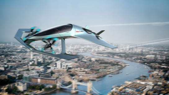 Aston Martin reveals flying car that could hit 200 mph