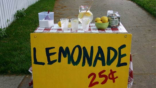 Boy, 6, sells lemonade to take mom on date after dad died