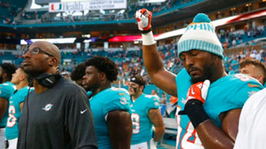 NFL anthem protests: Florida police union offers olive branch to players