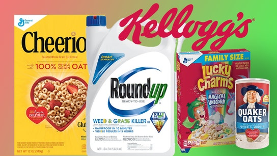 Roundup ingredient found in Cheerios, Quaker Oats, and other cereals