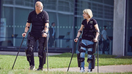 ReWalk robotic exoskeleton allows veterans to walk again