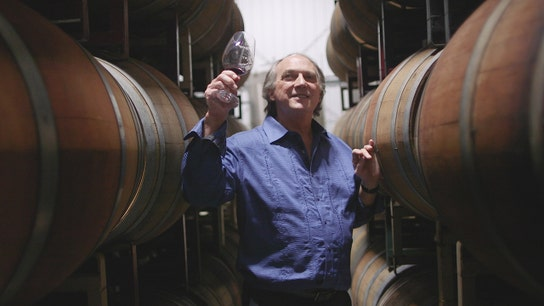 Winemaker David Hunt: 'Blindness is an inconvenience'