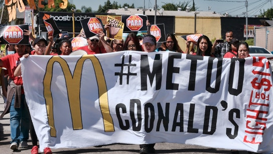 McDonald's workers strike over sexual harassment policies