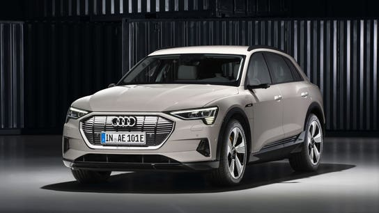 Audi e-tron SUV is the brand's first all-electric model