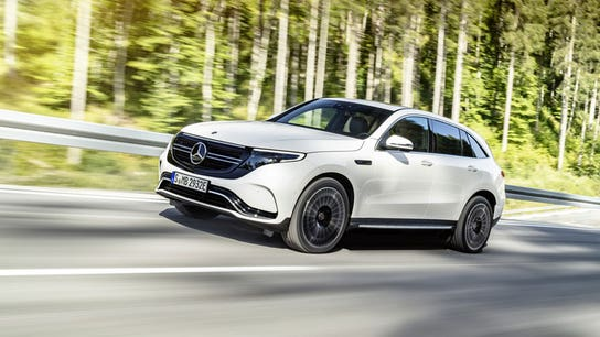Mercedes unveils Tesla-fighting electric SUV
