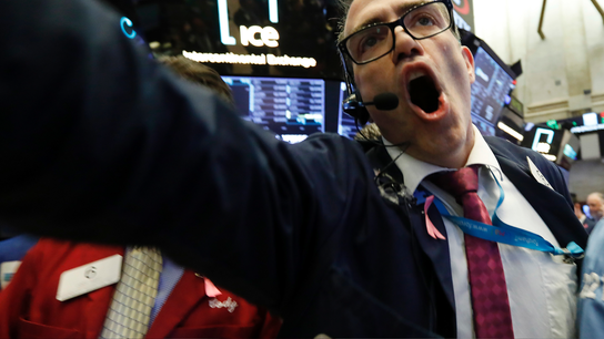Stocks mostly recover from an early plunge on Wall Street
