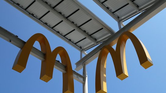 McDonald's shares jump on strong 3Q numbers