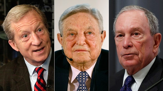 Left-leaning billionaires Soros, Bloomberg, Steyer trying to 'buy' Congress: Kevin McCarthy