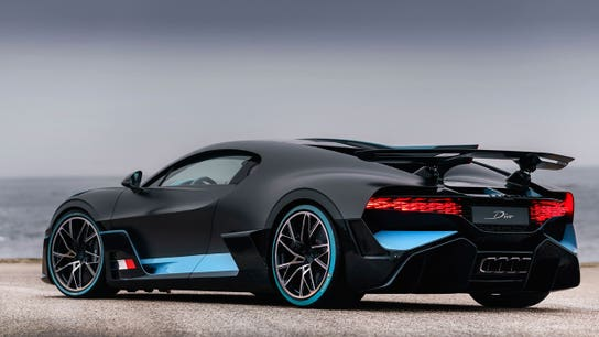 Bugatti's $5.7 million supercars sold out 'immediately'
