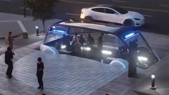 Elon Musk's first high-speed tunnel 'almost done' in LA
