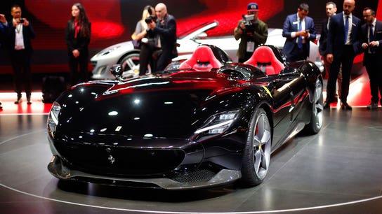 Paris Motor Show: Ferrari, BMW and Bugatti bring new sports cars