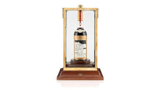 Rare whisky fetches record-setting $1.1M in auction