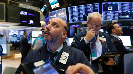 Markets Right Now: Tech rout erases market's gain for year