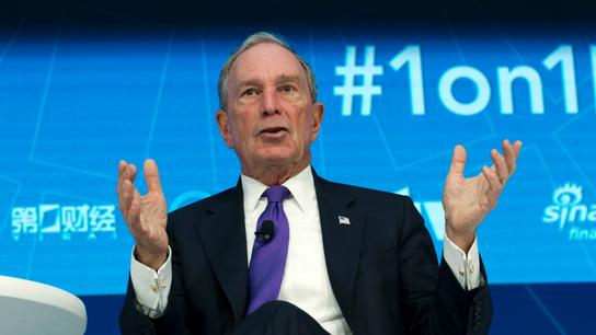 Michael Bloomberg donates $1.8B to Johns Hopkins University