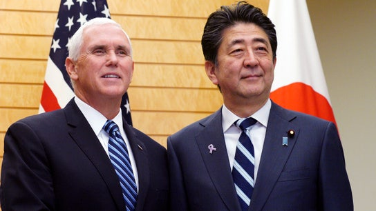 US, Japan trade tensions in focus during Pence visit