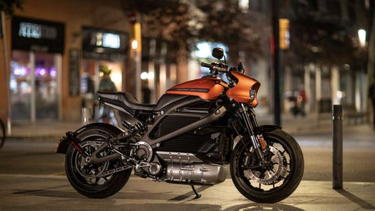 Harley-Davidson gives first look at new electric motorcycle