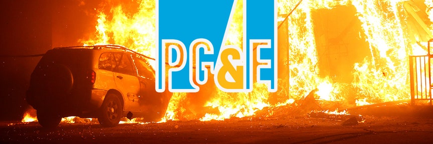 PG&E shares post big rebound after earlier tumble