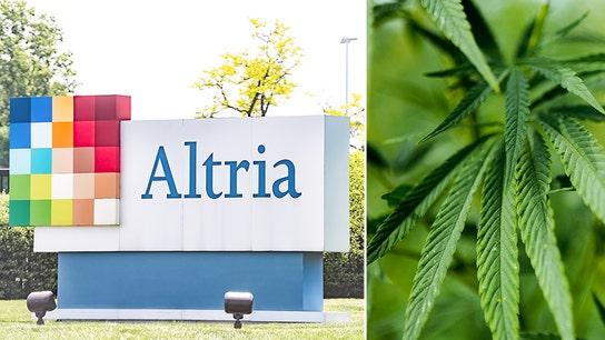 Altria's $1.8 billion Cronos bet gives marijuana industry lift