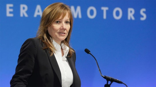 GM CEO Mary Barra's salary took a dip in 2018 to $21.87 million
