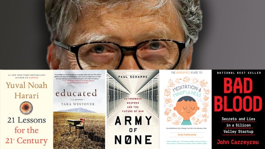 Bill Gates' favorite books in 2018