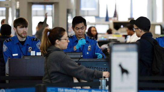 Airports seeing rise in security screeners calling off work
