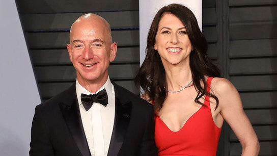 Jeff Bezos speaks out after ex-wife pledges half her fortune to charity: 'I'm proud of her'