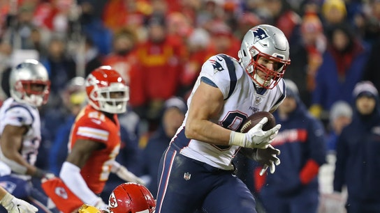 Patriots' Rob Gronkowski's business advice to younger athletes