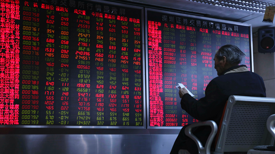 Asian stocks change little ahead of more US-China talks