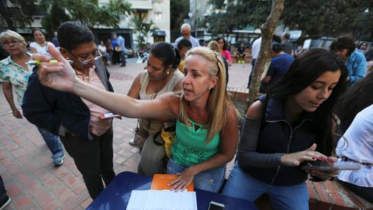 Brigade of volunteers vow to bring aid to Venezuela's needy