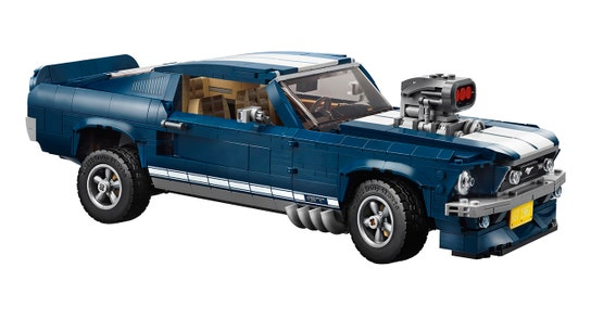 Lego 1967 Ford Mustang set lets car enthusiasts recreate famous muscle car