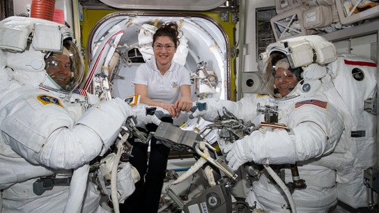 NASA scraps all-female spacewalk over suit sizing dilemma