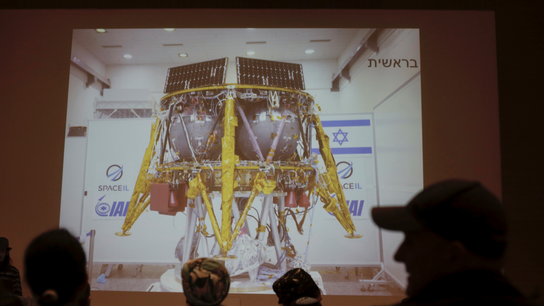 Israeli team investigating 'chain of events' in lunar crash