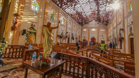 Easter Sunday explosions kill more than 200 in Sri Lankan churches, hotels
