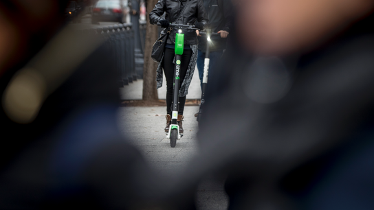 Electric scooters have zipped by docked bikes in popularity