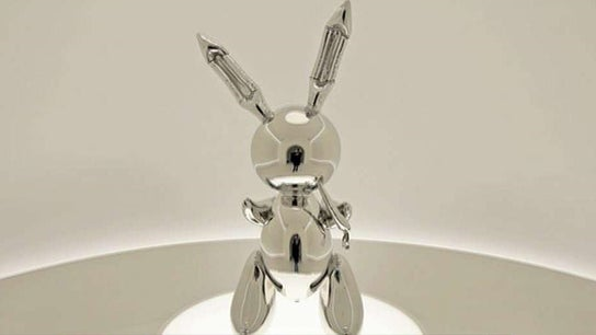 Who paid $91M for this Jeff Koons 'Rabbit' sculpture?