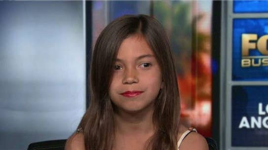 WATCH: Mini Ocasio-Cortez impersonator is a viral sensation but hasn't earned a single dollar, she says
