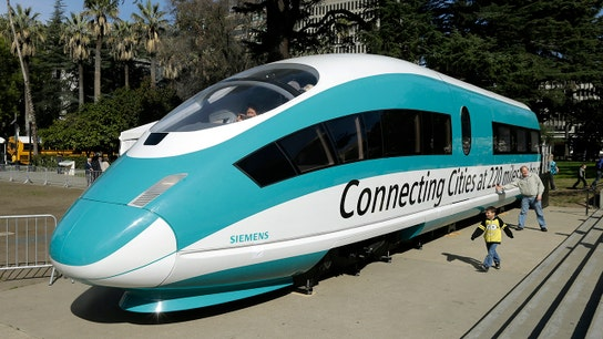 California sues Trump administration for pulling high-speed rail funds