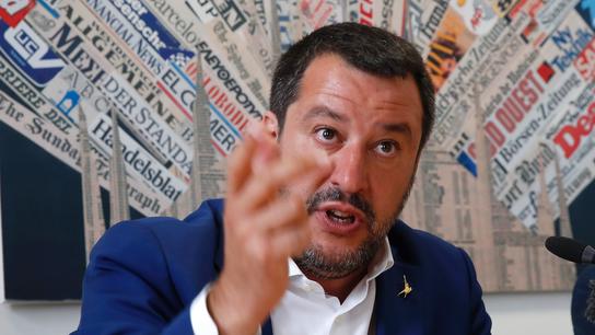 Salvini pledges 'shock' proposals before EU elections