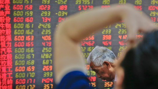 Asian shares see moderate losses after meltdown on Wall St