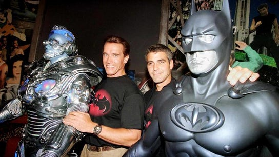 George Clooney says Arnold Schwarzenegger was paid '20 times more' for 1997's 'Batman & Robin'